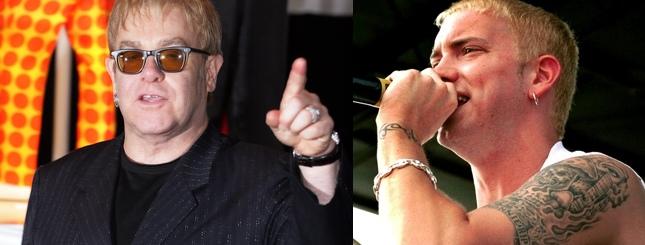 Elton John ocalił życie Eminemowi?