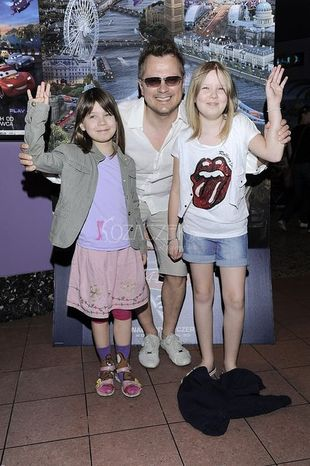Gwiazdy z dziećmi na premierze filmu Auta 2 (FOTO)