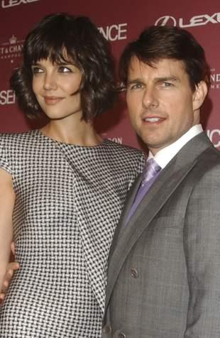 Córka Toma Cruise'a ostrzy pazurki