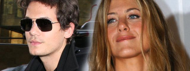 Jennifer Aniston na randce z Johnem Mayerem