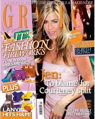 Jaką rolę w rozstaniu Courtney Cox z mężem odegrała Aniston?