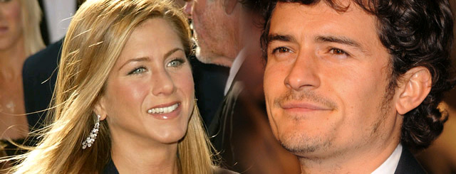Jennifer Aniston i Orlando Bloom na randce?
