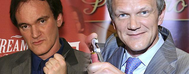 Cezary Pazura chce być jak Tarantino