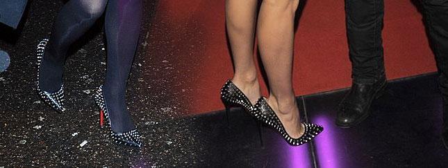 Cerekwicka i Doda w takich samych butach! (FOTO)