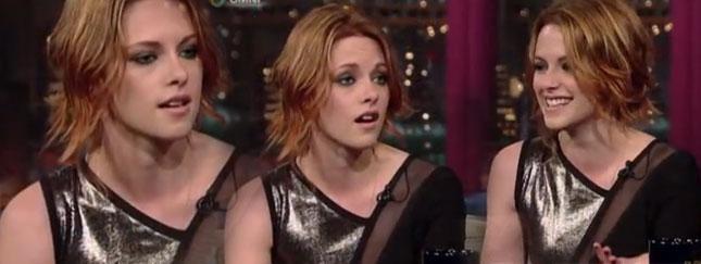 Jeszcze więcej rudowłosej Kristen Stewart (VIDEO)