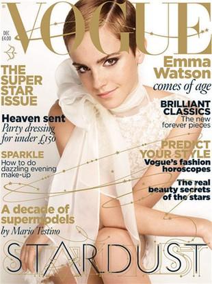 Emma Watson w brytyjskim Vogue (FOTO)