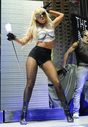 Lady GaGa zapomniałą założyć bluzki!