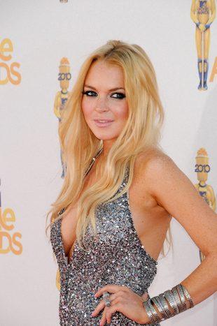 Lindsay Lohan świętowała pierwszą noc wolności