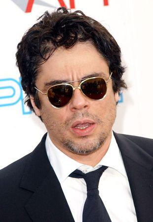 Benicio del Toro złapany na dziecko