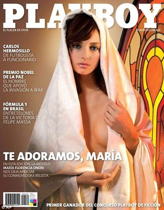 Playboy przeprasza za Maryję na okładce
