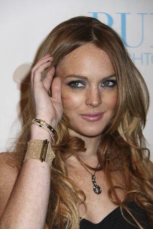 Lindsay Lohan znowu pije