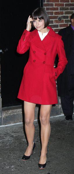 Katie Holmes nas zaskakuje (FOTO)