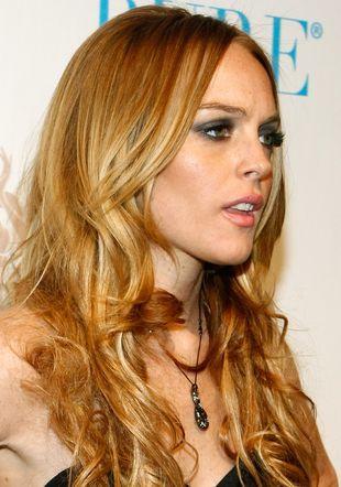 Lindsay Lohan jest blondynką