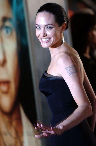 Tatuaże Angeliny Jolie najpopularniejsze w Azji