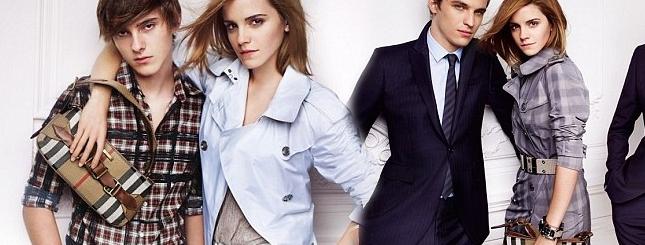 Emma Watson i jej młodszy brat pozują dla Burberry