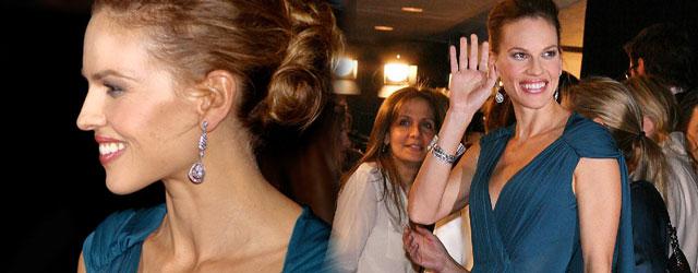 Hilary Swank wyglądała bosko! (FOTO)