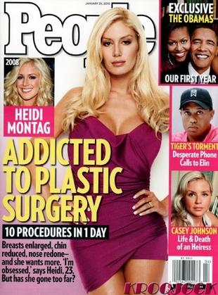 Heidi Montag chce mieć jeszcze większe piersi!