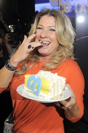Beacie Kozidrak kawałek tortu nie zaszkodzi (FOTO)