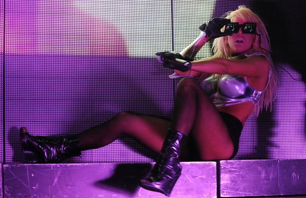 Lady GaGa znów zapomniała coś założyć