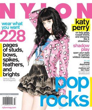 Katy Perry w magazynie Nylon (FOTO)