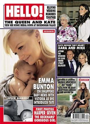 Emma Bunton pokazuje swojego ślicznego synka (FOTO)
