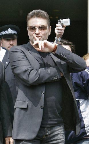 George Michael lubi sobie powciągać…