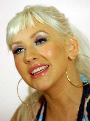 Elegancka, gustowna Christina Aguilera