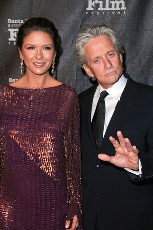 Zeta-Jones i Douglas – oboje już w formie (FOTO)