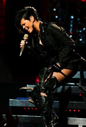 Rihanna i jej trupia czaszka
