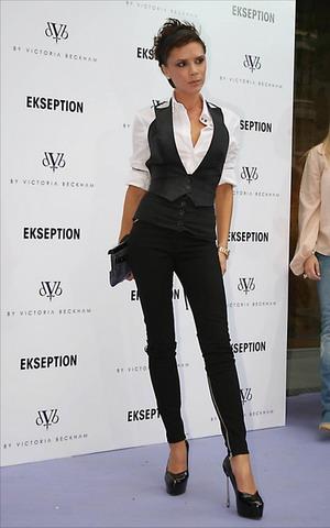Srebrna Victoria Beckham