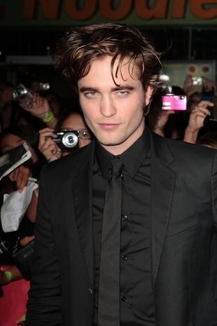 Robert Pattinson bez stylizacji