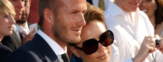 David Beckham robi w Polsce zakupy