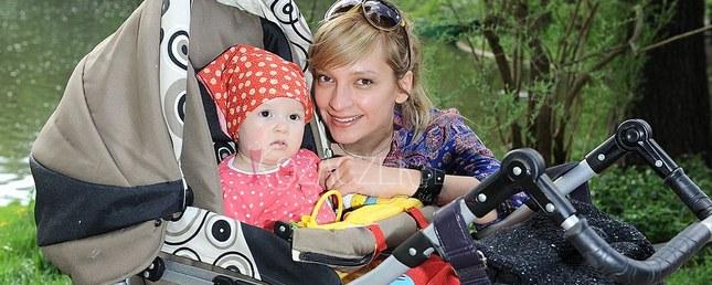 Dominika Łakomska z córeczką (FOTO)
