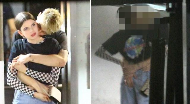 Anwar Hadid całuje się namiętnie z podobizną Kendall Jenner!