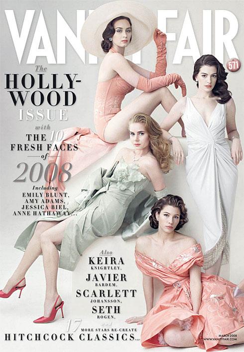 Vanity Fair Magazine Hollywood Issue 2008