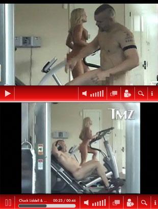 Chuck Liddell i jego seksowna dziewczyna nago (VIDEO)