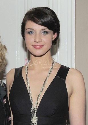 Julia Kamińska elegancka na premierze (FOTO)