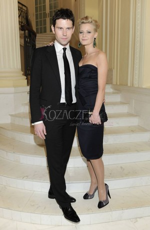 Małgorzata Kożuchowska z mężem na salonach (FOTO)