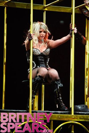 Trasa Britney Spears to katastrofa!