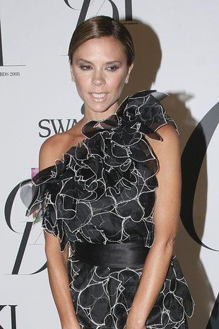 Victoria Beckham bez makijażu i w piżamie