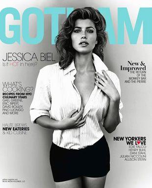 Jessica Biel w magazynie Gotham (FOTO)
