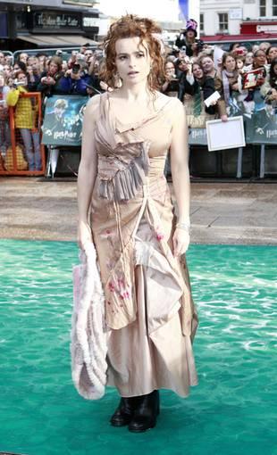 Helena Bonham Carter w żałobie