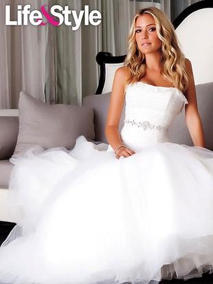 Kristin Cavallari w sukniach ślubnych po rozstaniu (FOTO)
