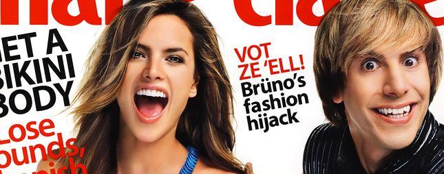 Bruno na okładce Marie Claire (FOTO)