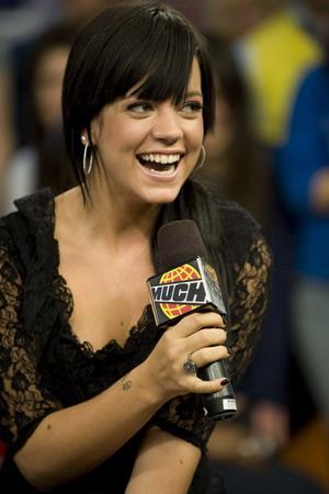 Uśmiechnięta, radosna Lily Allen (FOTO)