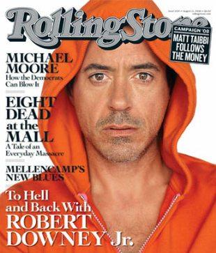 Robert Downey Jr. - Gdy miałem 6 lat, ojciec dał mi narkotyk