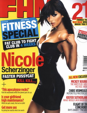 Nicole Scherzinger dla FHM (FOTO)