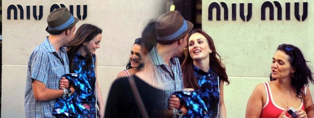 Leighton Meester w Paryżu (FOTO)