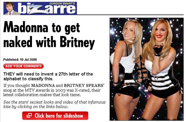 Ciało Dody dobre dla Britney i Madonny