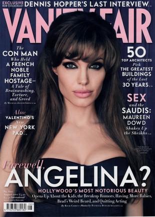 Angelina Jolie w Vanity Fair (FOTO)